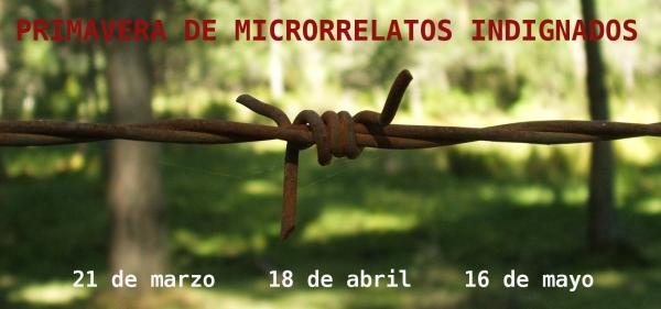 Primavera de Microrrelatos Indignados 2013